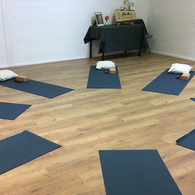 Ju-Ki training en yoga ruimte (Multi ruimte)