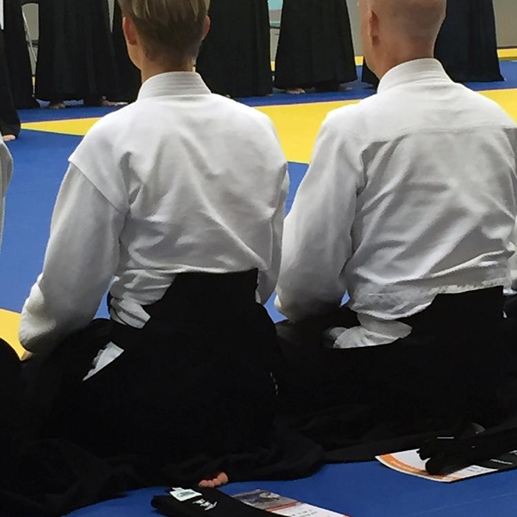 Aikido diploma uitreiking