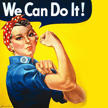 Rosie: 'We can do it!'