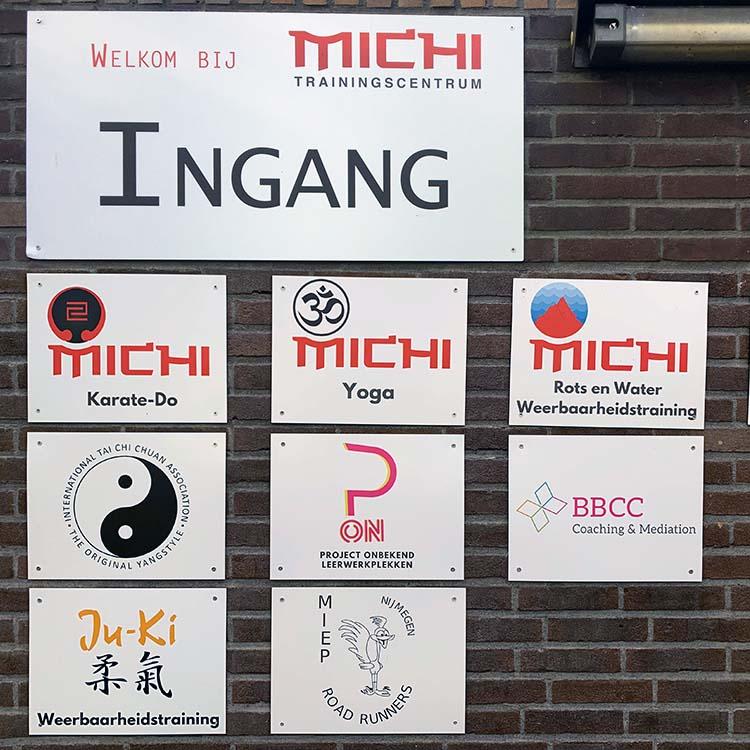 Trainingscentrum Michi ingang